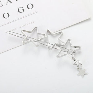 Fashion Metal Leaf Hair Clip Barrettes Hairpin