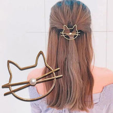 Load image into Gallery viewer, Fashion Metal Leaf Hair Clip Barrettes Hairpin