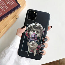 Load image into Gallery viewer, Mona Lisa Art David Soft Silicone Phone Case