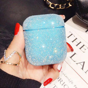 Bling Hard Shell Pouch Luxury Cases for Apple AirPods