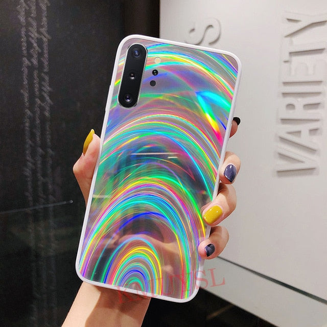 Rainbow Mirror Case For Samsung Galaxy