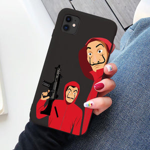 Spain TV Money Heist House Paper La Casa de papel phone case for iPhone