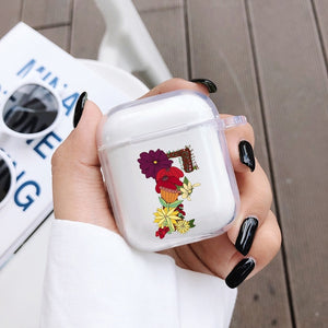 Original Art Letter Cute Case For Apple Airpods