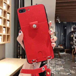 Luxury Shoulder Bags phone case  For Apple Iphone