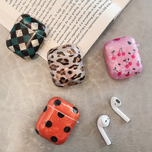 Load image into Gallery viewer, Luxury Leopard Cartoon Cute Cherry Silicone Case For Airpods