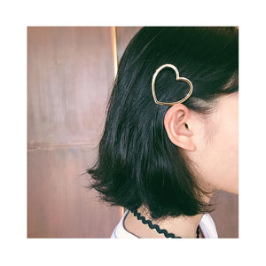 European and American minimalist style head clip