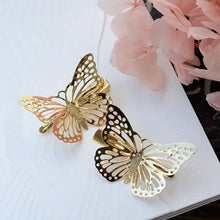 Load image into Gallery viewer, 1pcs Women Girls Butterfly Hair Clips