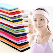 Load image into Gallery viewer, Fashion Women Men Absorbing  Yoga Headband Elasticity Turban Sports
