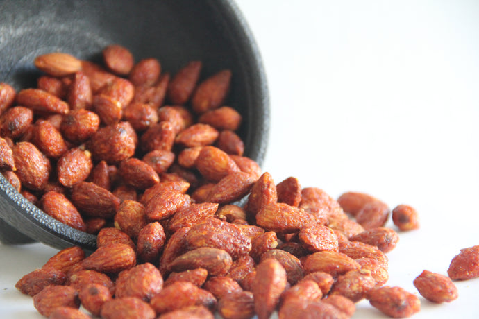 Sweet Sriracha Almonds