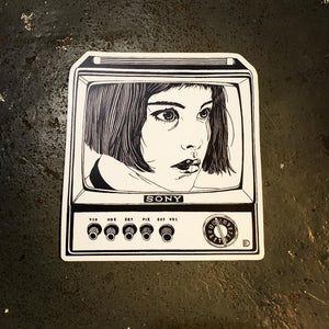 Mathilda/SONY sticker