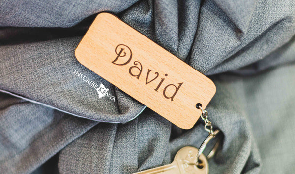 Simple Wooden Keychain