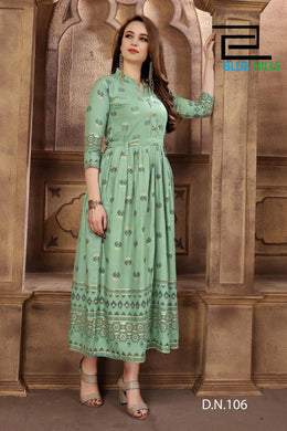 Beautiful Indo Western Casual Wear Long Kurta