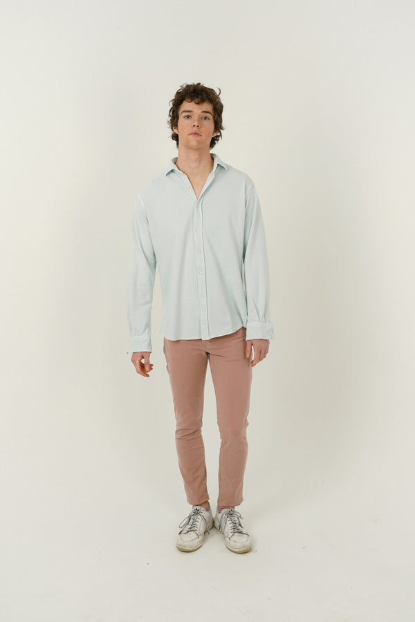 Five Pocket Trousers - Salmon