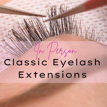 Load image into Gallery viewer, Face to Face Classic Eyelash Extensions Course - Makeup and Beauty Courses Online
