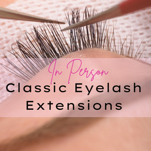 Face to Face Classic Eyelash Extensions Course - Makeup and Beauty Courses Online
