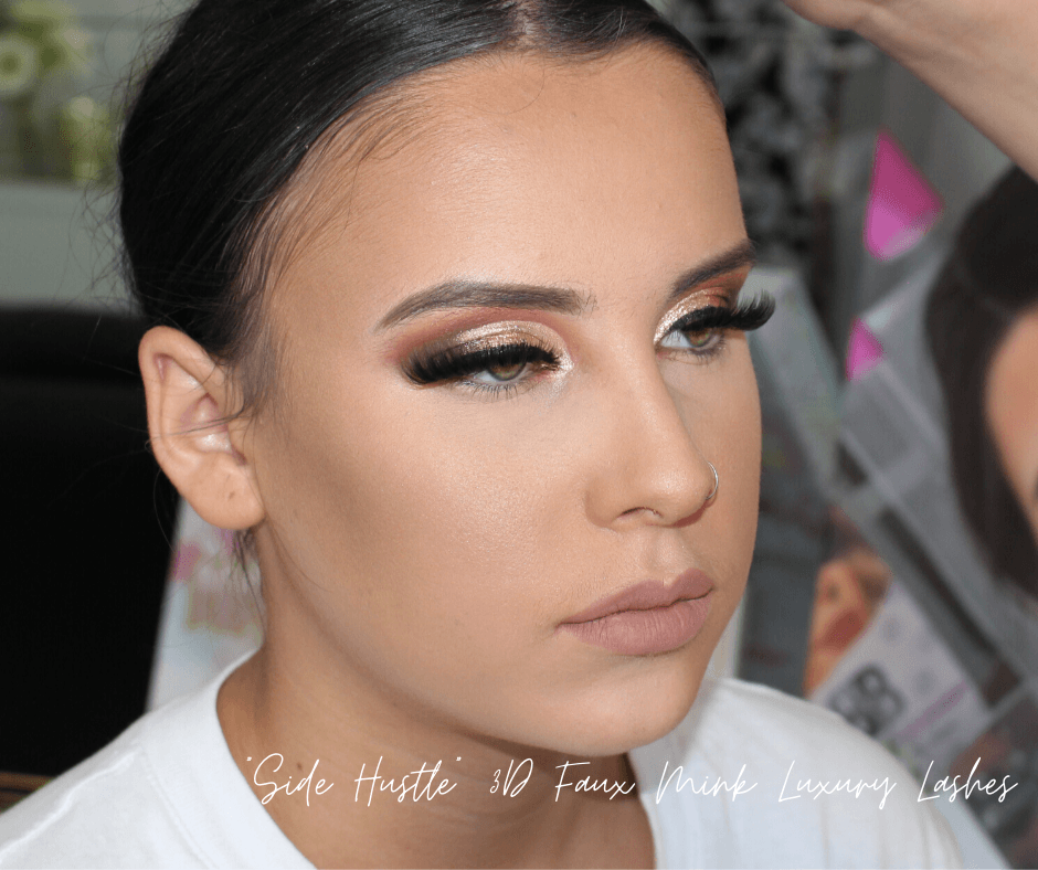 Side Hustle 3D Faux Mink Lashes - Makeup and Beauty Courses Online
