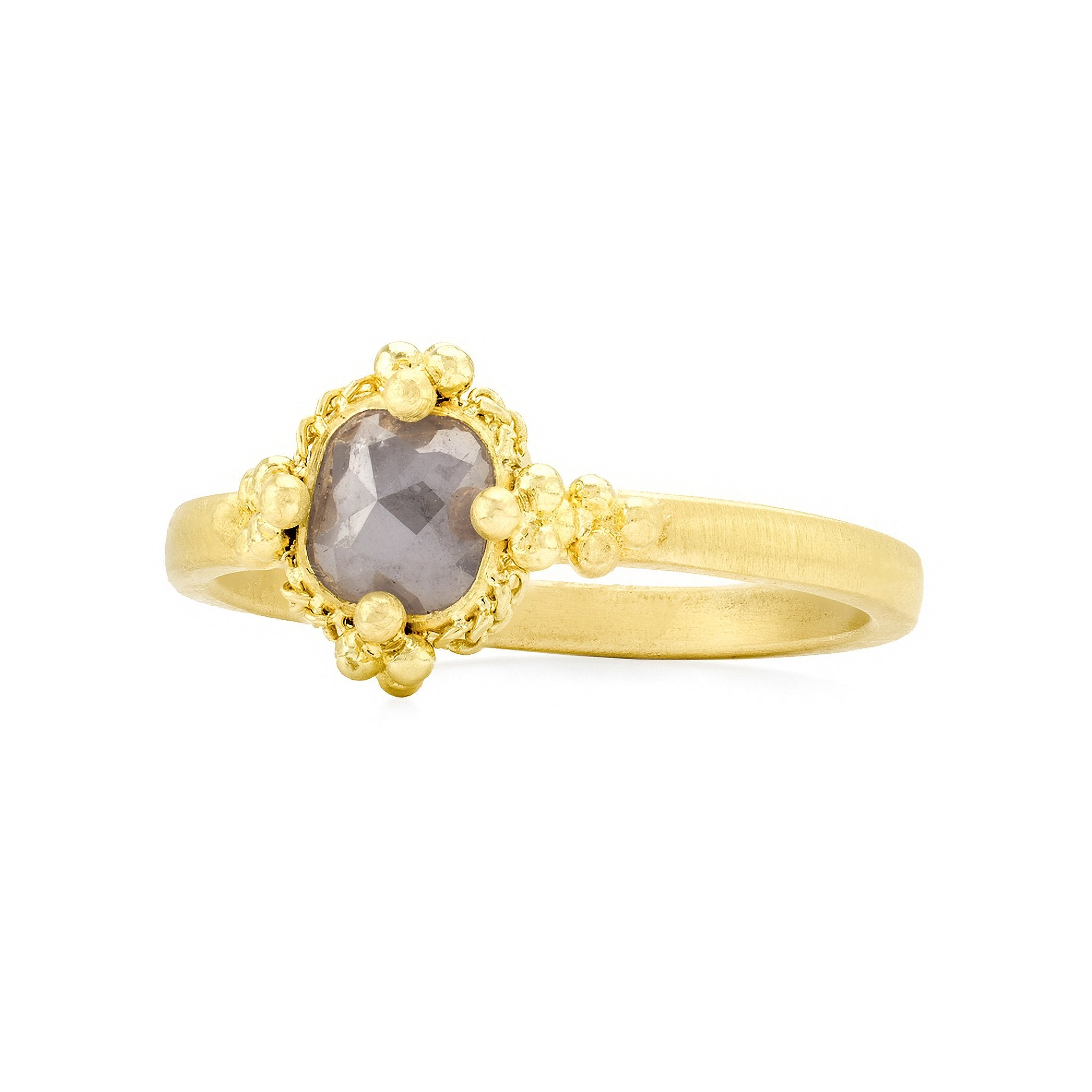 Amali-Square Diamond Ring