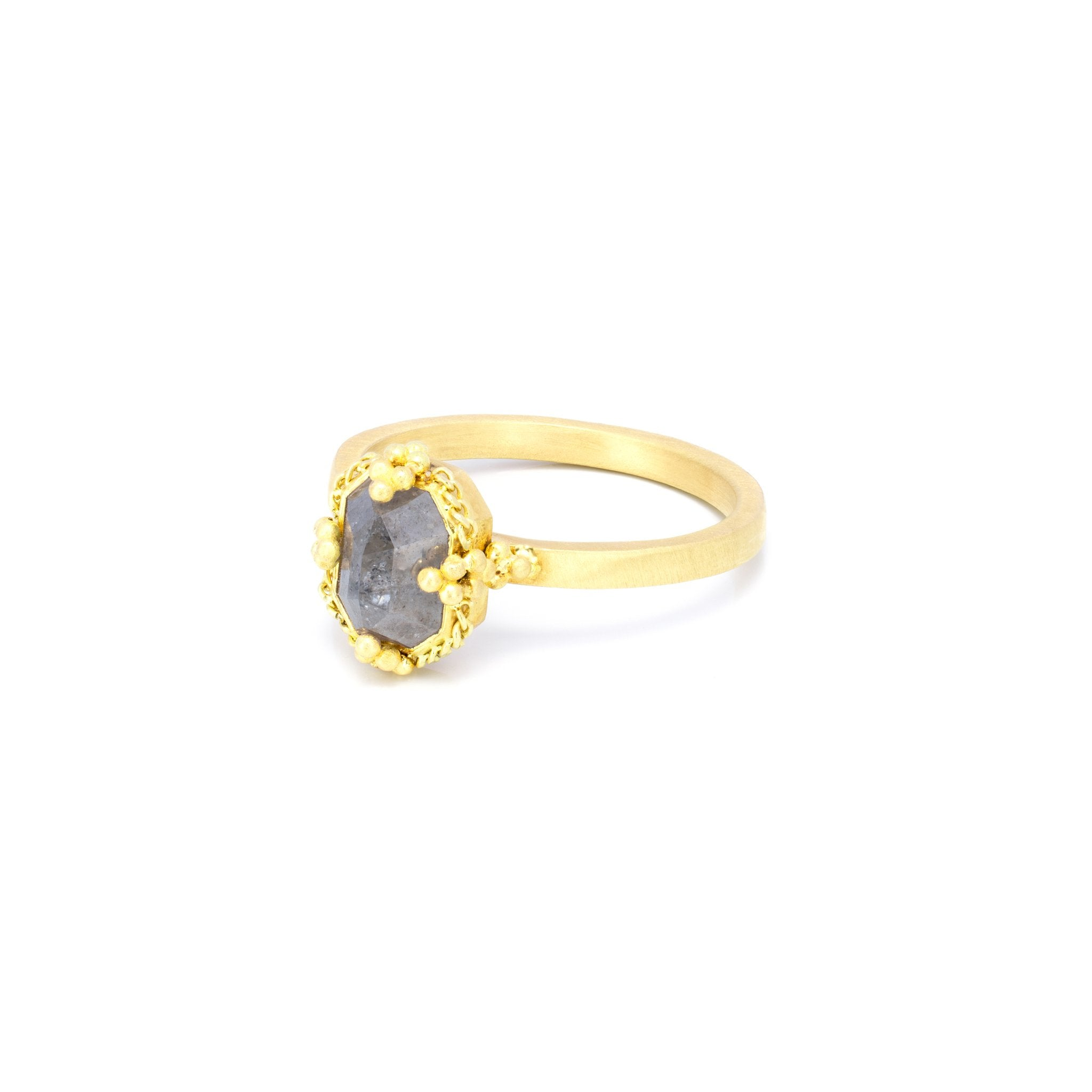 Amali Rose Cut Diamond Ring
