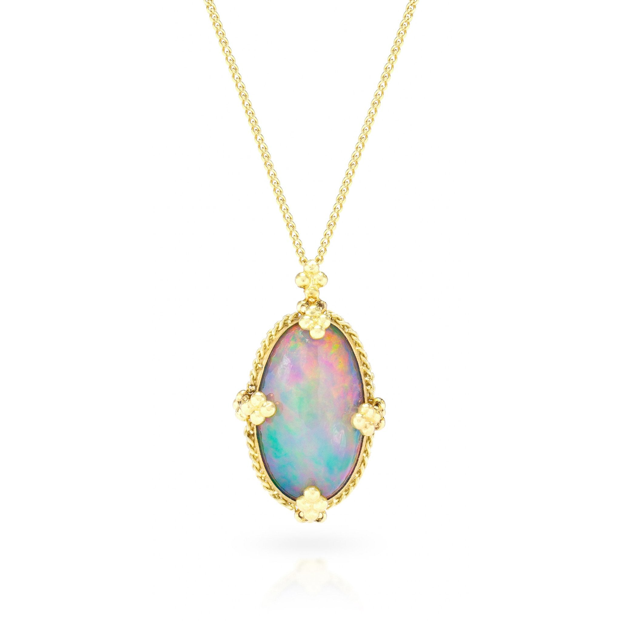 Amali-Ethiopian Opal Necklace