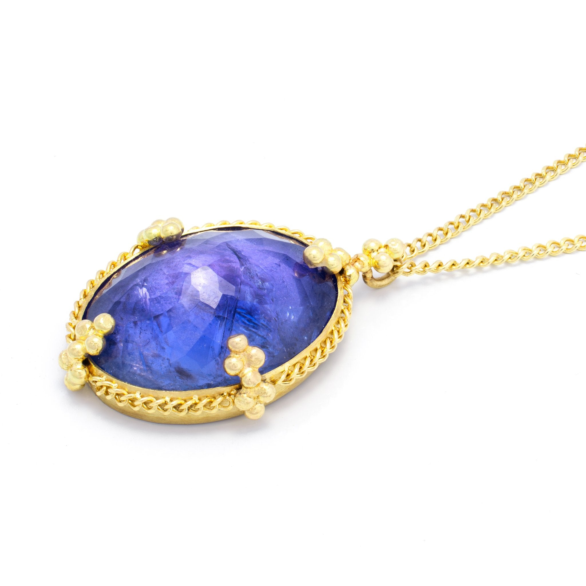 Amali Indigo Tanzanite Necklace