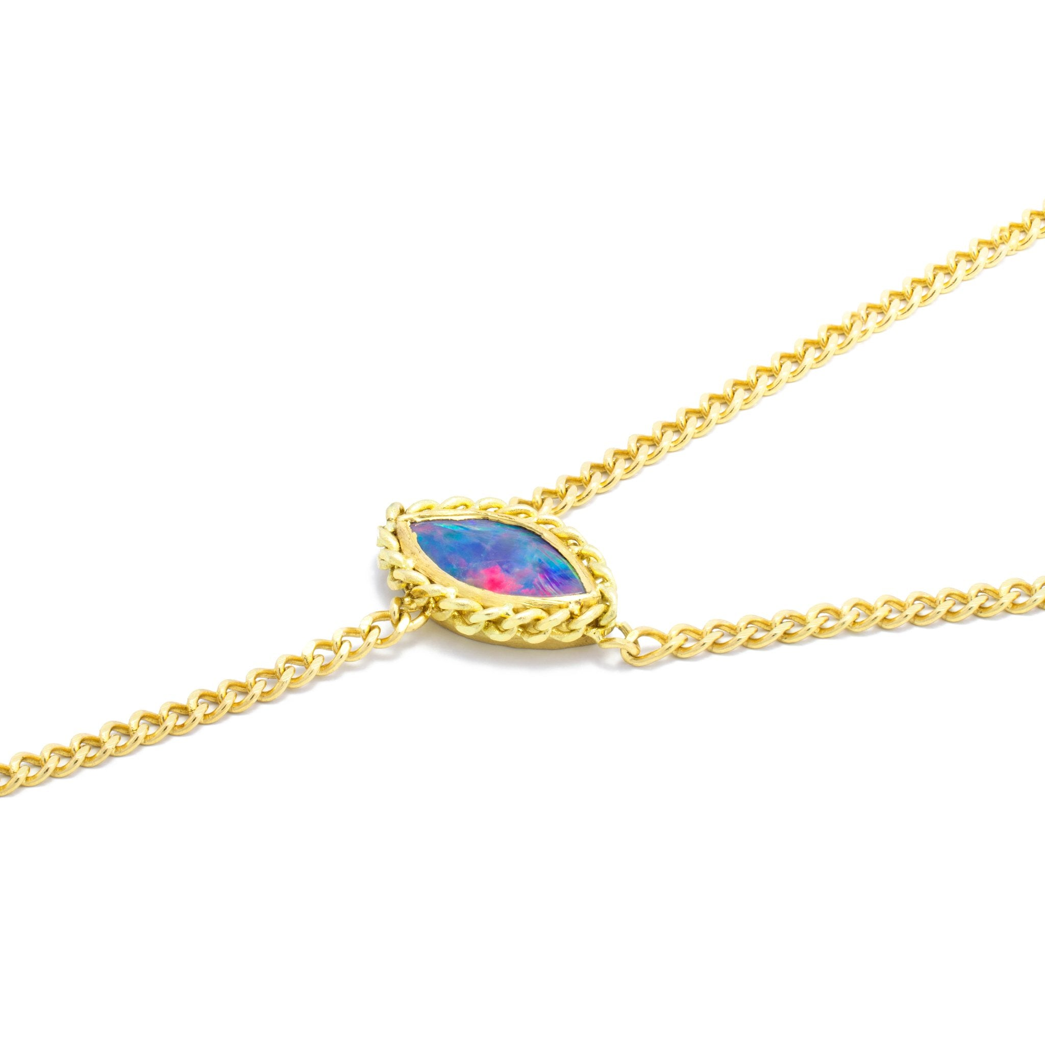 Opal Stationary Lariat