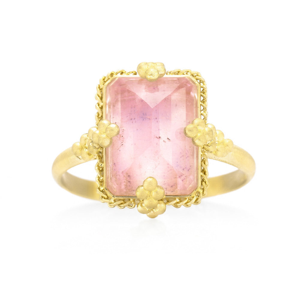 Amali-Morganite Portrait Ring