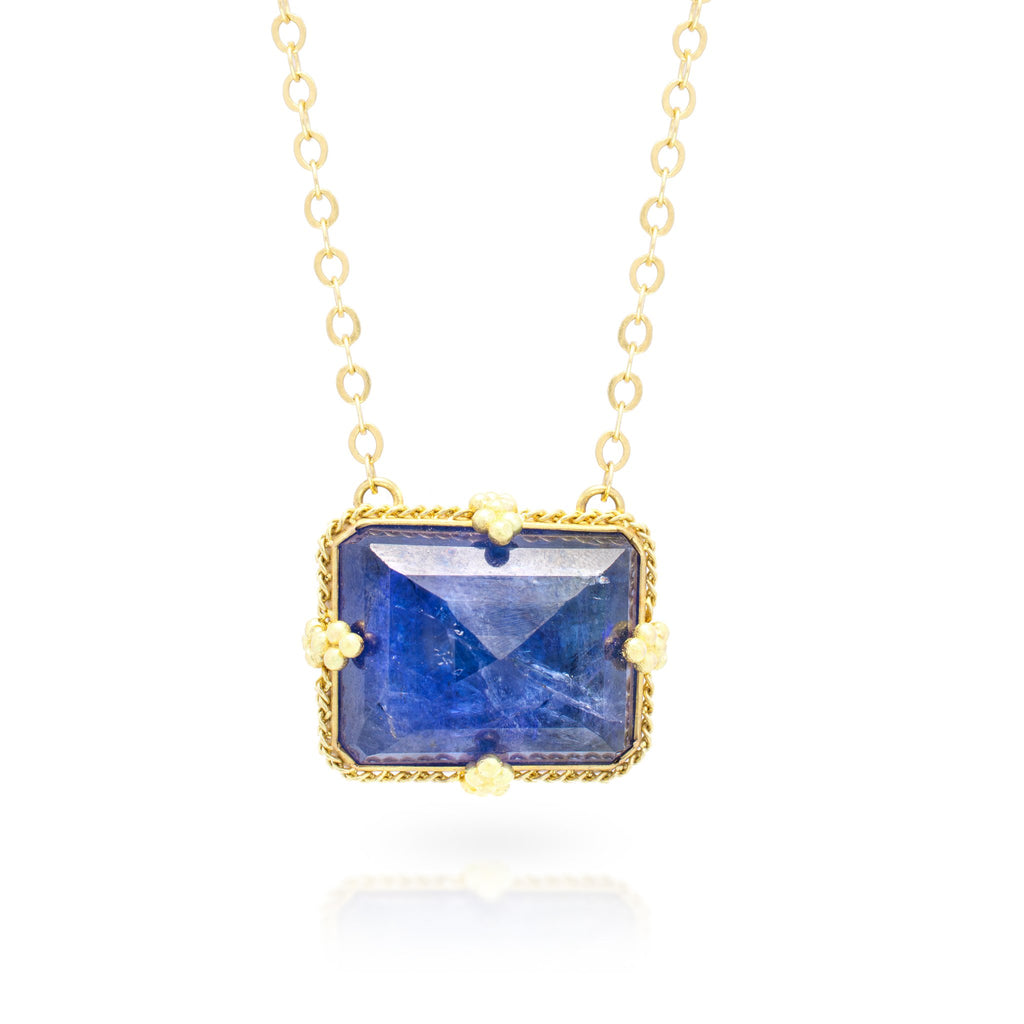Amali Tanzanite Landscape Necklace