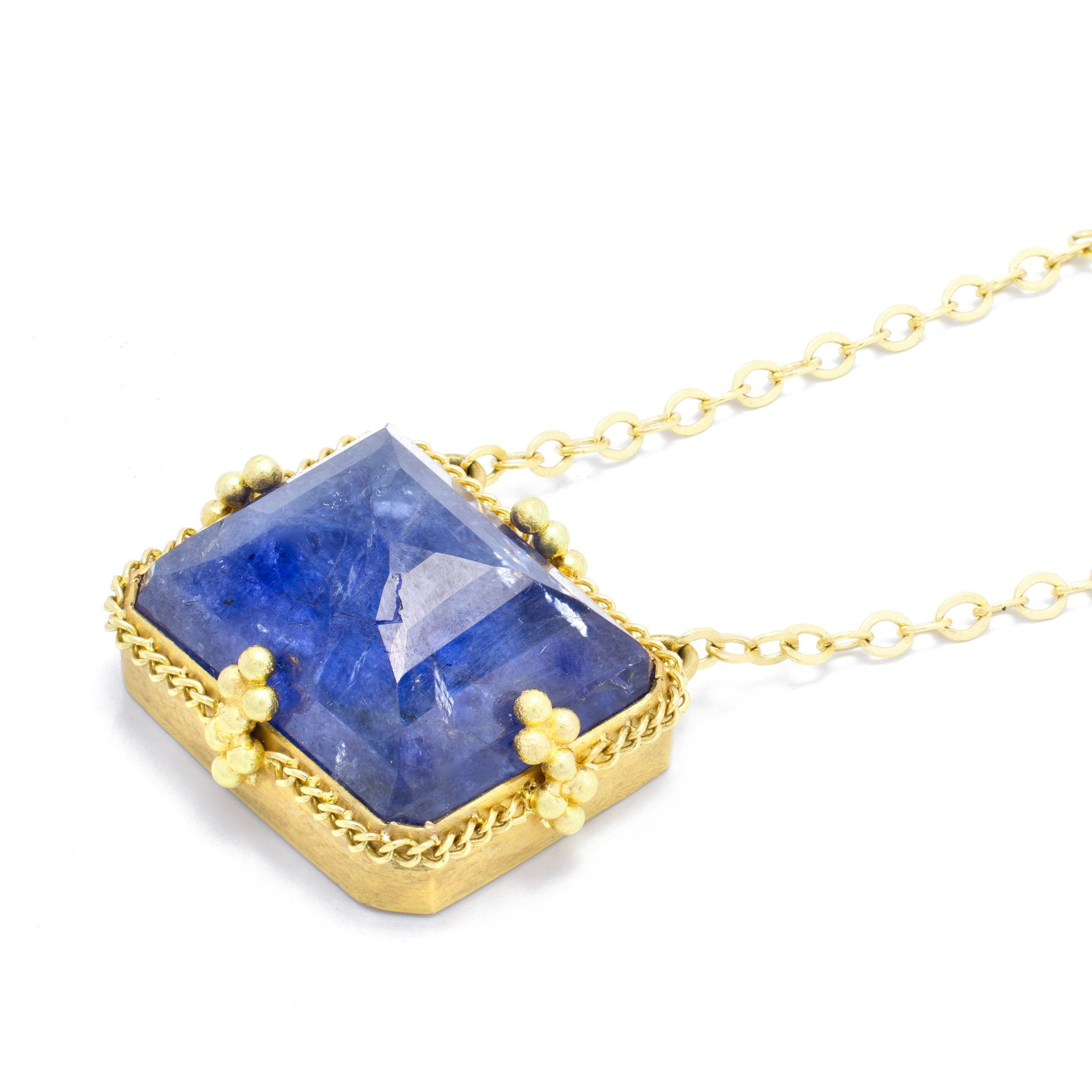 Tanzanite Landscape Necklace