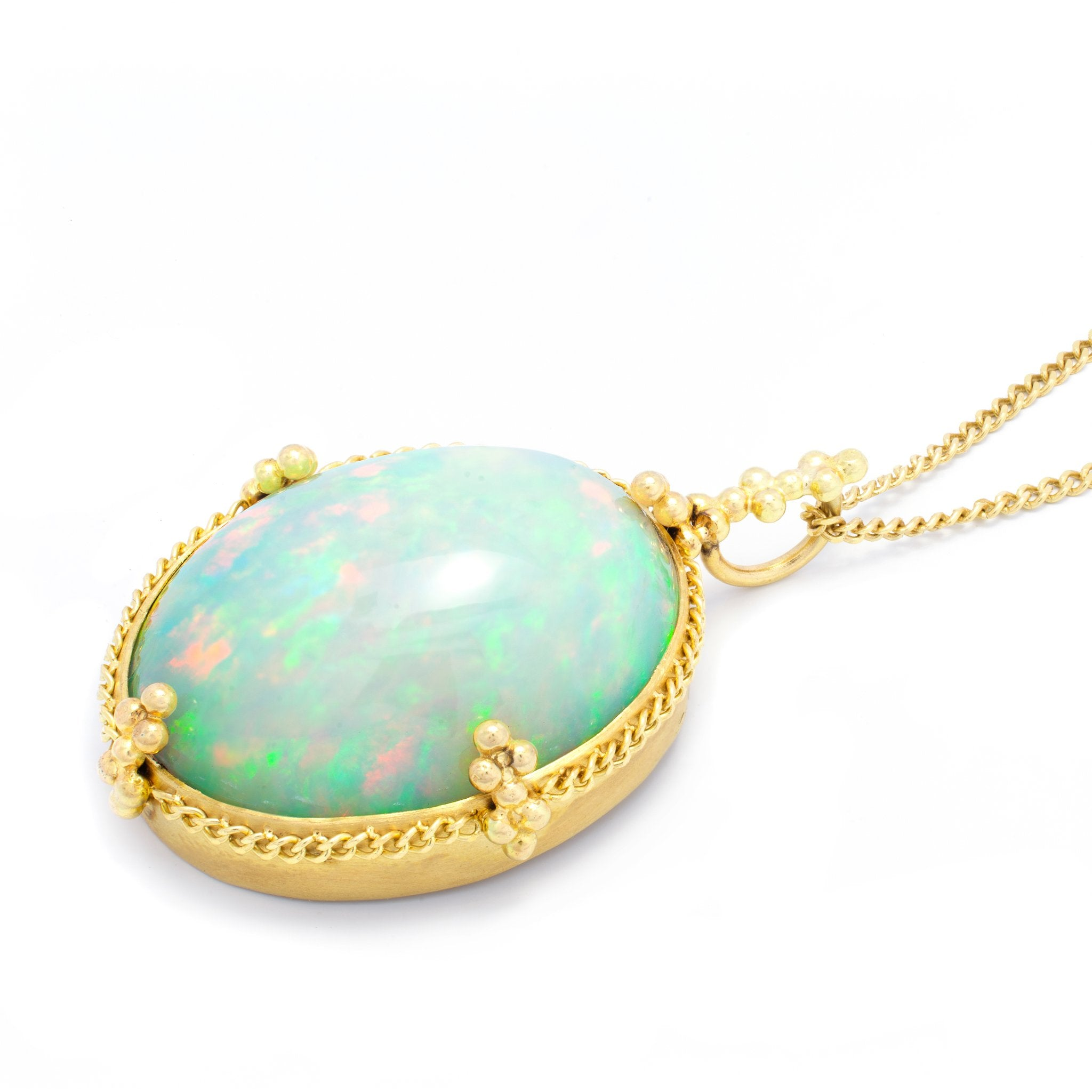 Amali Ethiopian Opal Necklace
