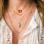Load image into Gallery viewer, Ethiopian Opal Necklace