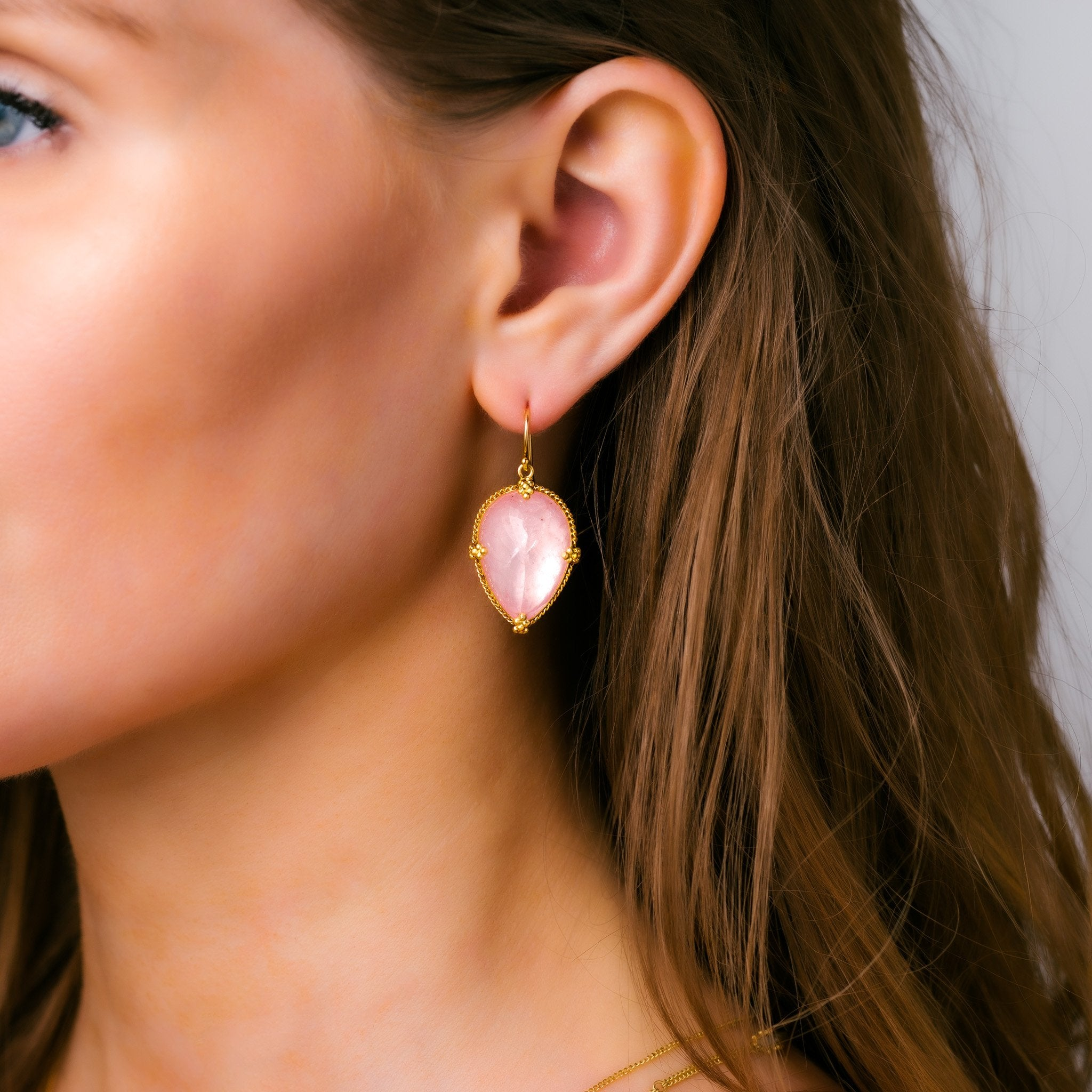 Amali-Morganite Earrings