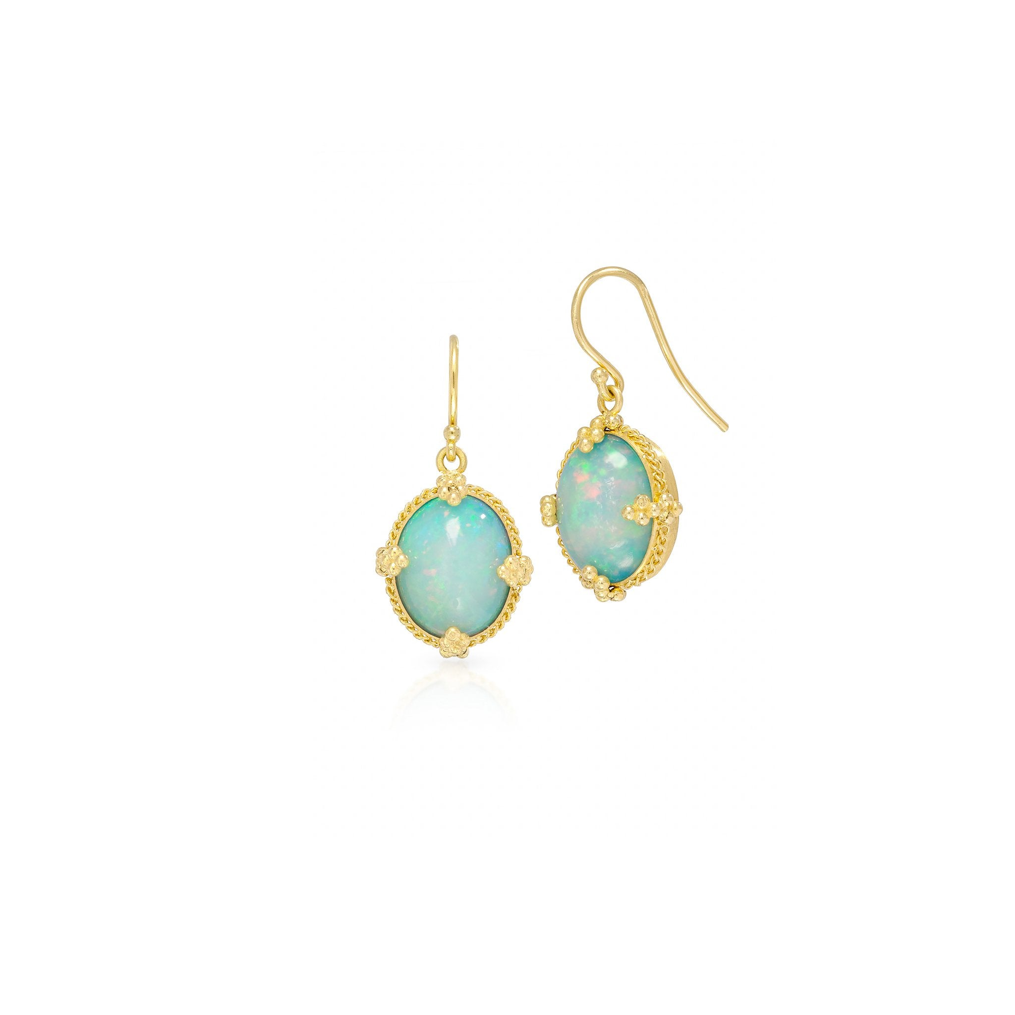 Amali-Ethiopian Opal Earrings