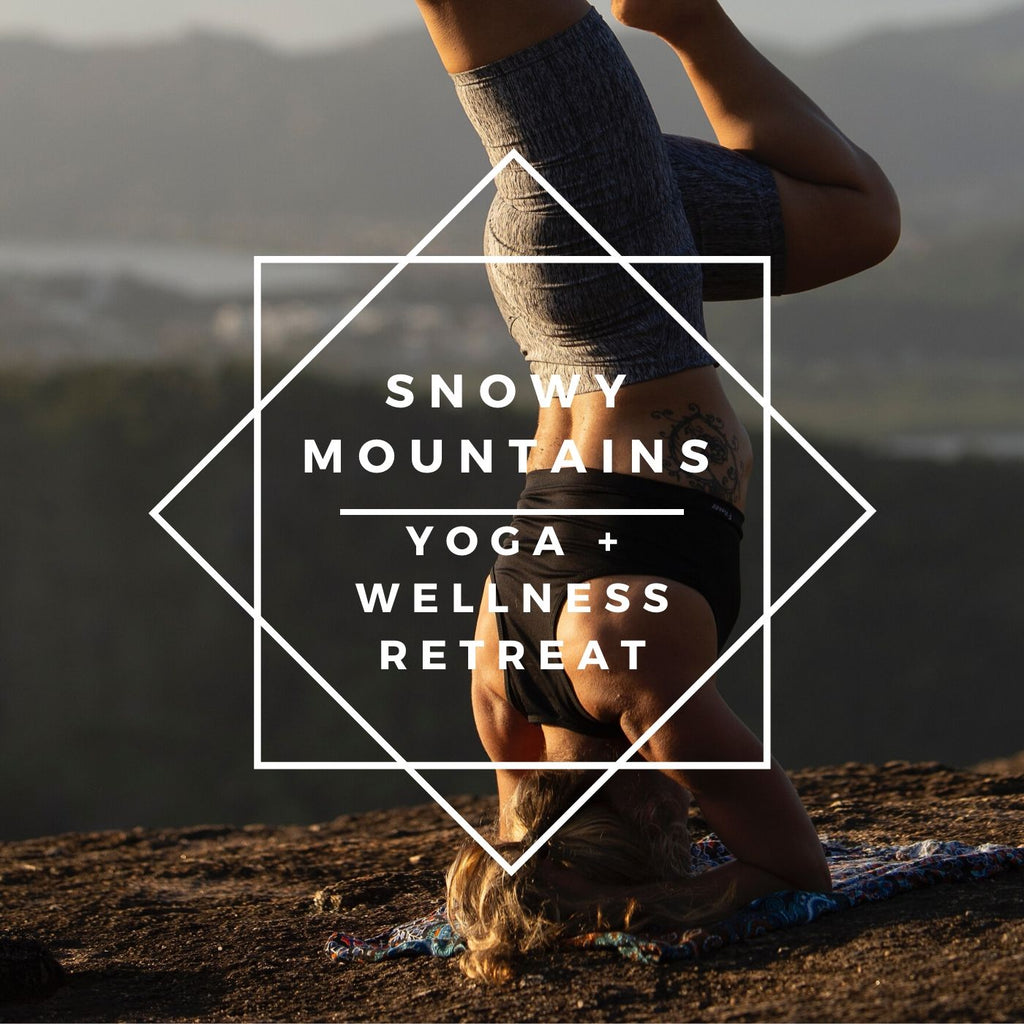 4 Night Snowy Mountain Yoga + Wellness Retreat: 24th May 2020