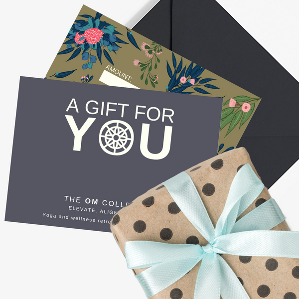 yoga retreat gift card