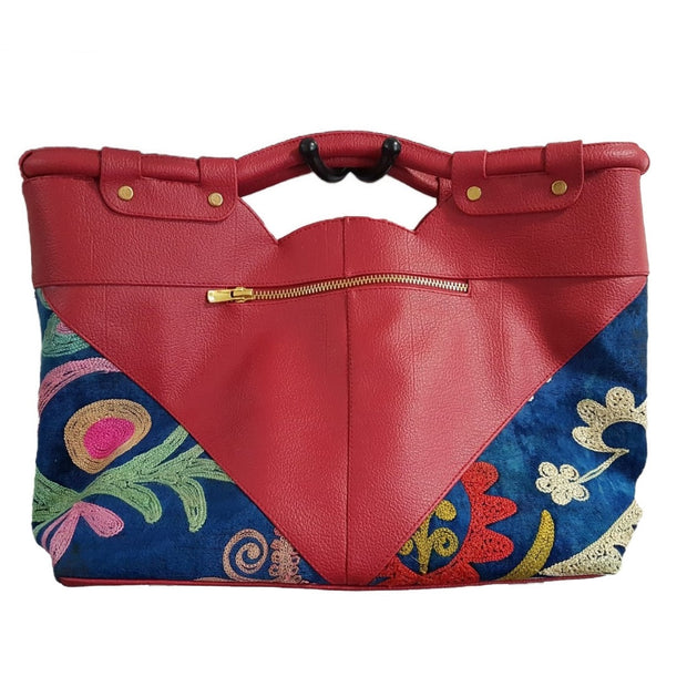 "Handbag ""Flowers in the corners"""