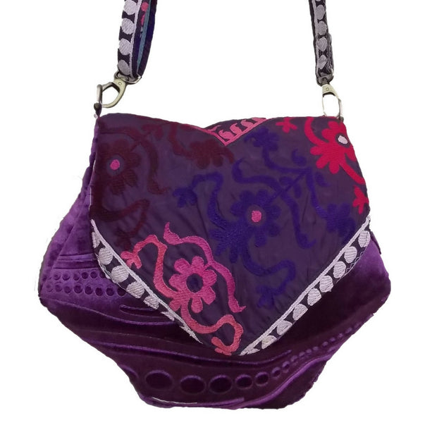 "Cross-body Bag ""Deep Purple"""