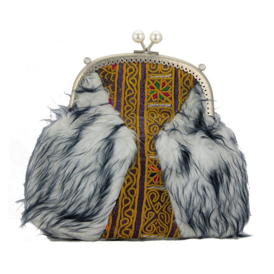 "Evening purse ""Fur"""