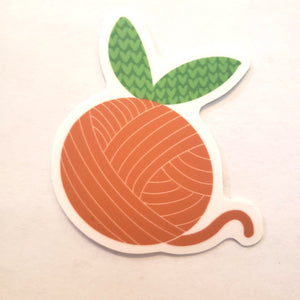 Orange You Glad Sticker