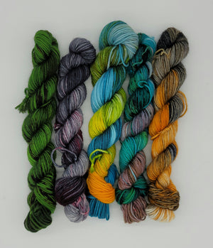 Cryptids Mini Skein Collection