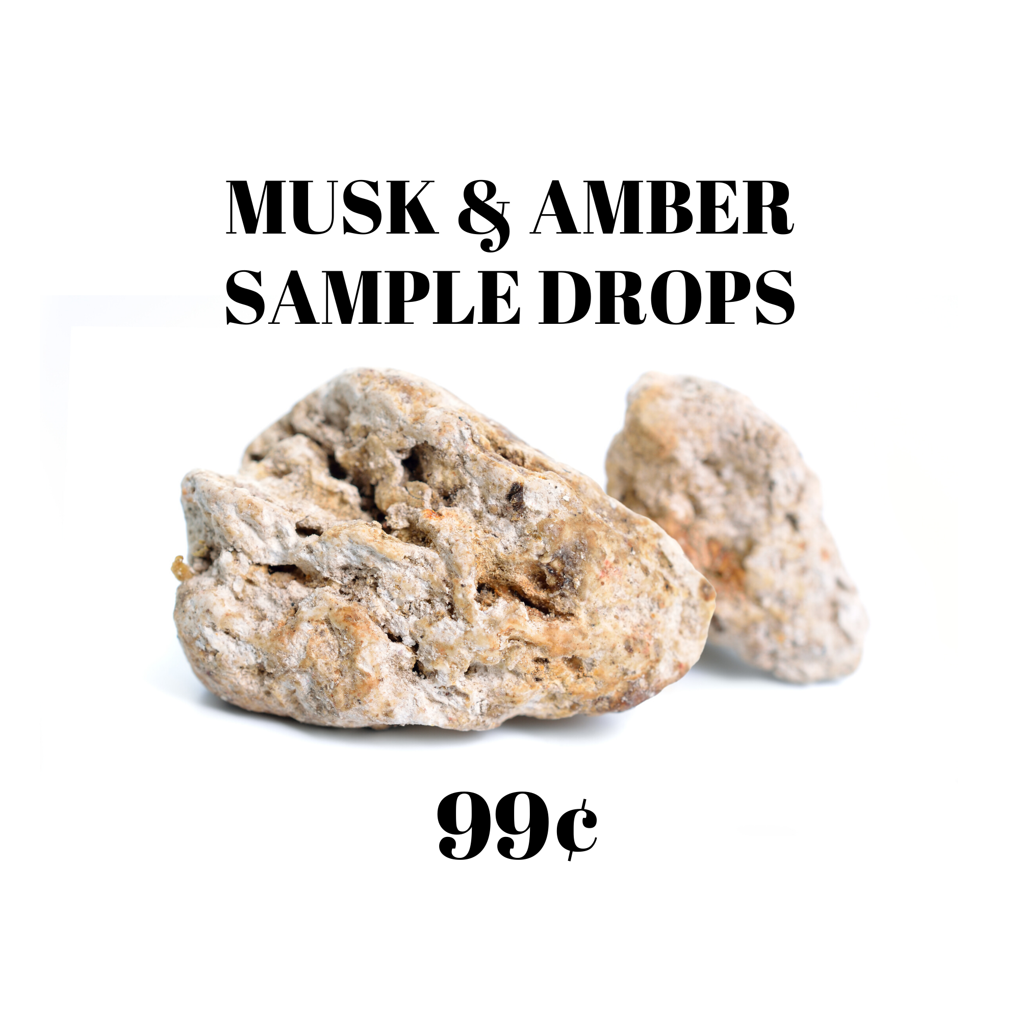 Amber & Musk Sample Drops
