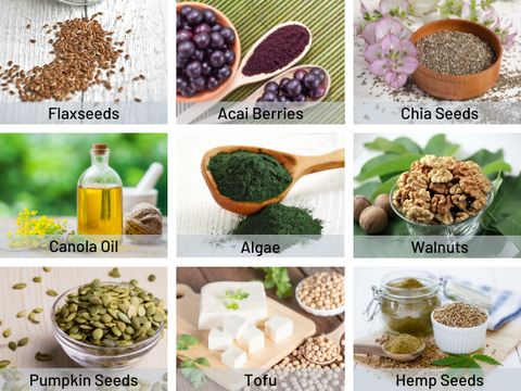 9 Vegan Omega-3 sources