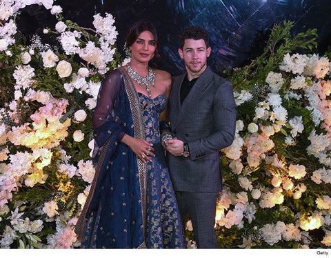 Priyank Nick Wedding Reception