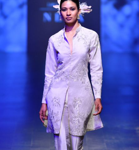 Designer Outfits By Raghavendra Rathore At Lakme Fashion Week 2019 Panache Haute Couture