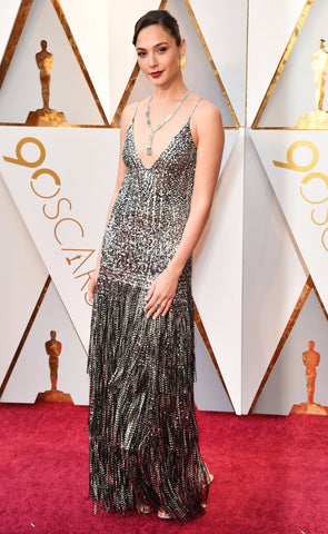 Gal Gadot in Gunmetal Givenchy Gown