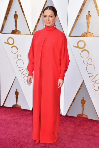 Maya Rudolph in a Loose Red Smock