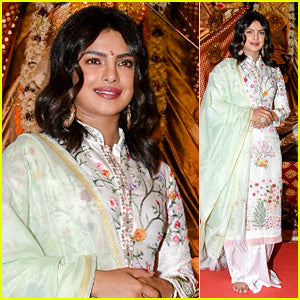 Priyanka Chopra Look Fabulous In Rahul Mishra Kurta