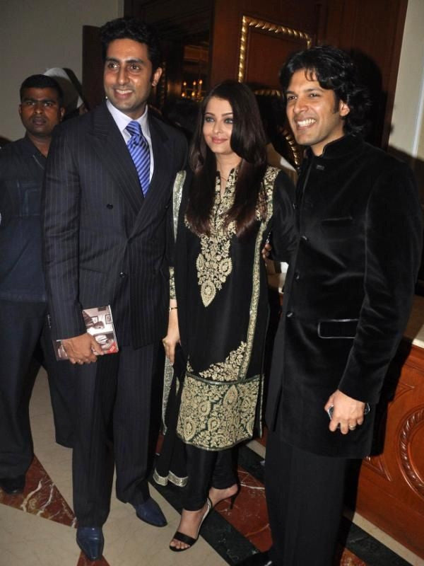 Aishwarya rai's black color party wear suit