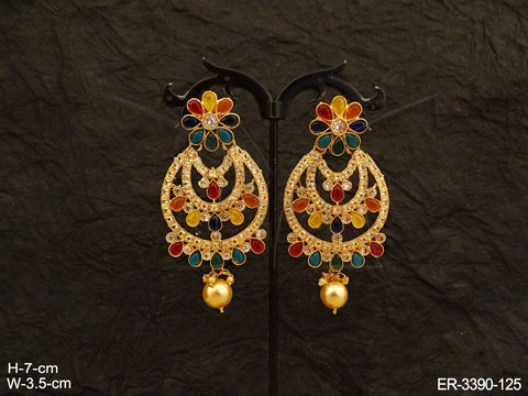 Multicolor Layered Earrings