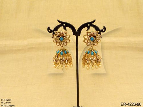 Blue Color Antique Jumki