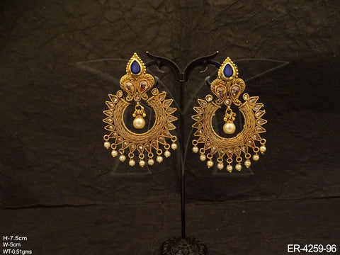 Chand Polki Earrings
